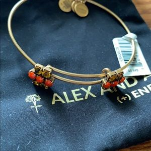 Alex and Ani Sparkler Cinnamon Bracelet